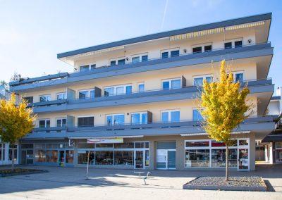 Sanierung eines Wohn- und Geschäftsgebäudes auf dem Marktplatz in Spaichingen