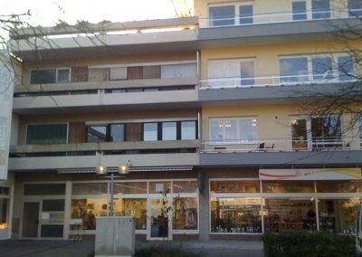 Sanierung eines Wohn- und Geschäftsgebäudes durch Winker Bauträger, Ansicht vorher