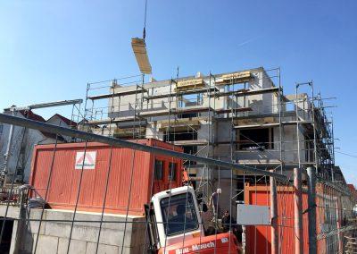 Haus 1 Arbeiten im Dachgeschoss, Bauprojekt Winker Efinger in Spaichingen Hofen