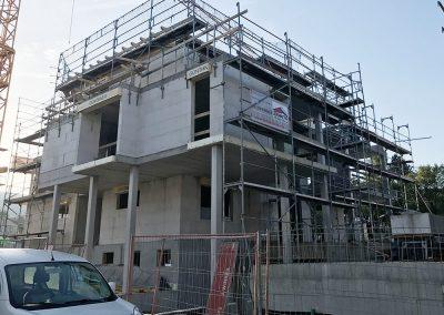 Baufortschritt Grabenstraße